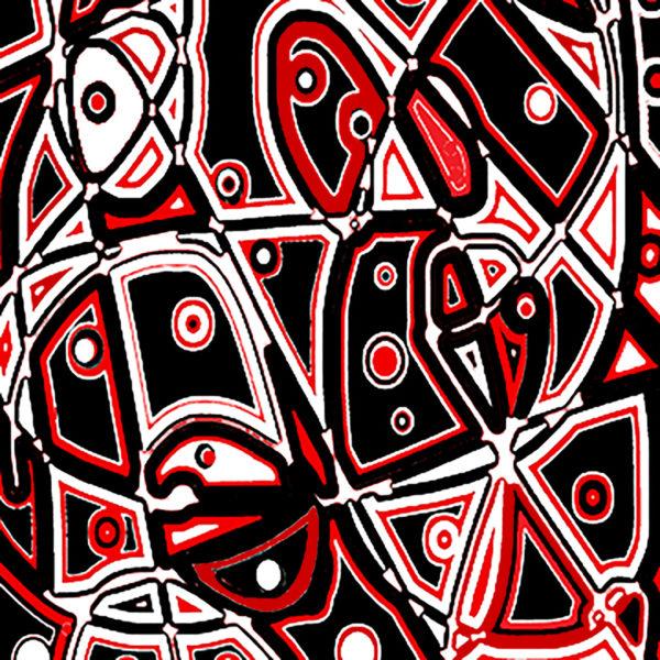 """Joan Lengel, Rhythm Play, Digital, 12""""x12"""", $350"""